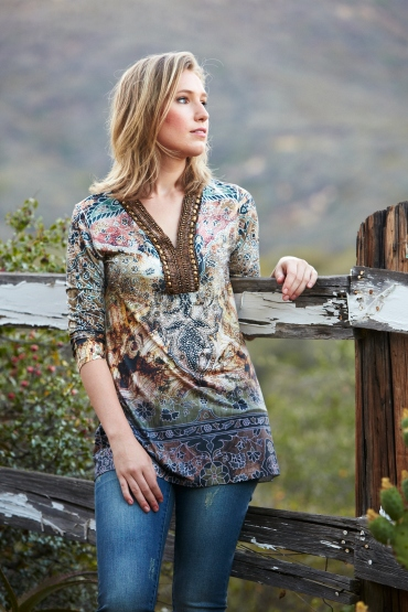 Allie Ollie Tunisian Tunic Giveaway for MAGIC Tradeshow