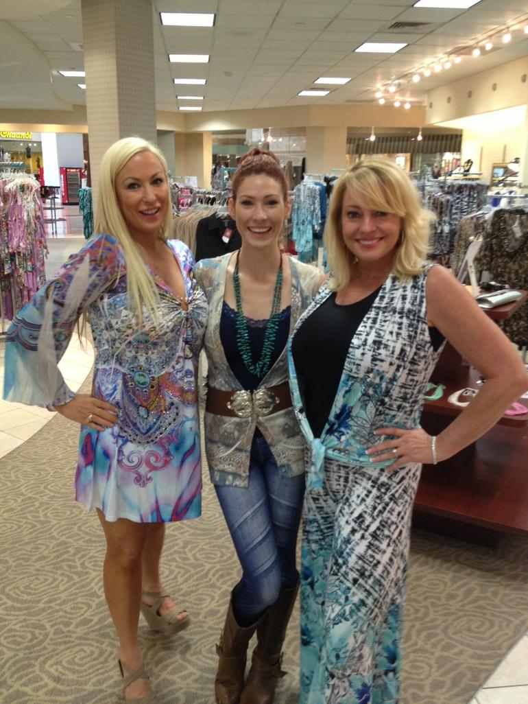 Bonnie, Allie, and Rhonda in Allie Ollie Boutique