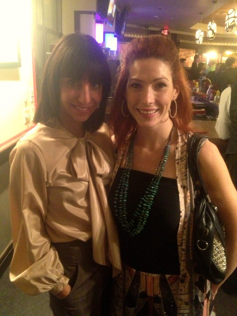 Paula Taylor and Allie Ollie at after party for Tucson Fashion Week