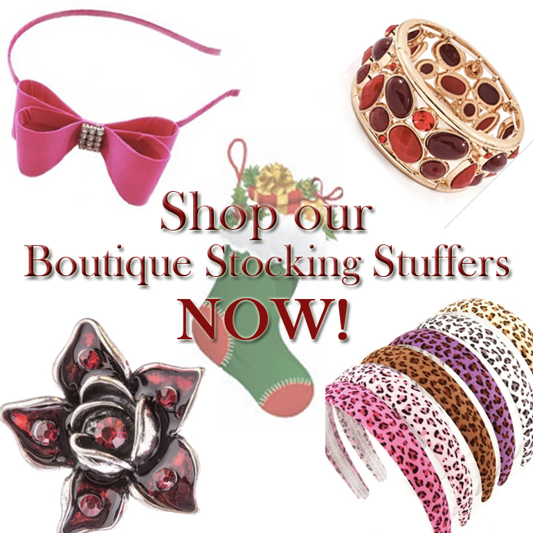 Buy 2, Get 3rd Free on Boutique Stocking Stuffers at Allie Ollie