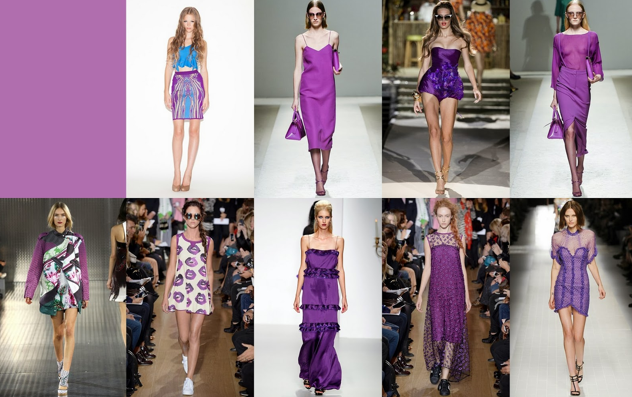 Allie Ollie: Looks of Radiant Orchid from the runway