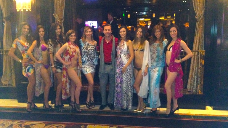 Syrup Swimwear co-hosts party at the Bellagio with Allie Ollie for Santa Fe Fashion Week