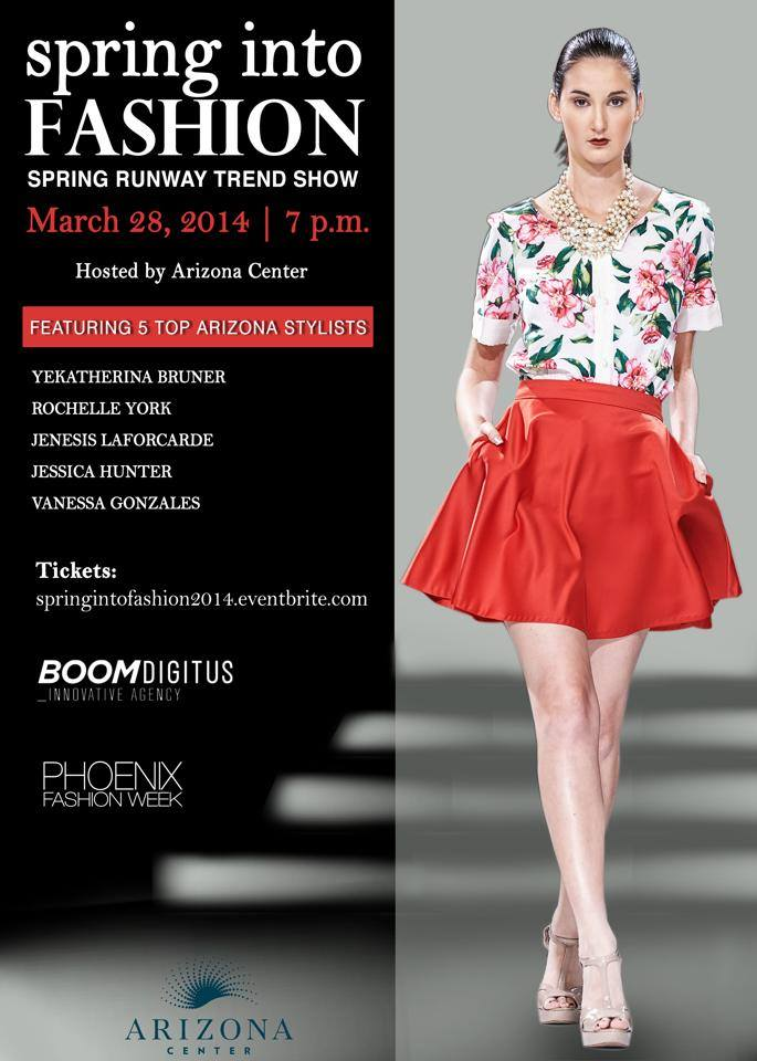 Spring into Fashion event presented by Phoenix Fashion Week and showcasing Allie Ollie Boutiques
